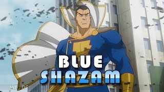 Shazam Blue Suit | Billy Batson Shazam in Blue fights Black Adam | Edited Review