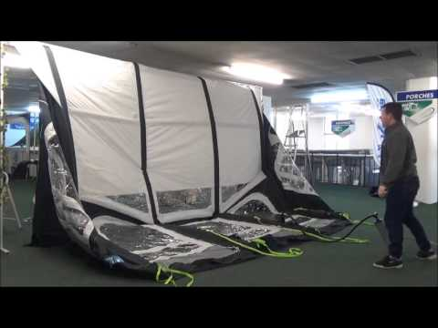 Kampa Ace Air 400 Demonstration Youtube