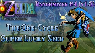 Zelda Majora's Mask Randomizer - Super Lucky Seed | Version 1.8