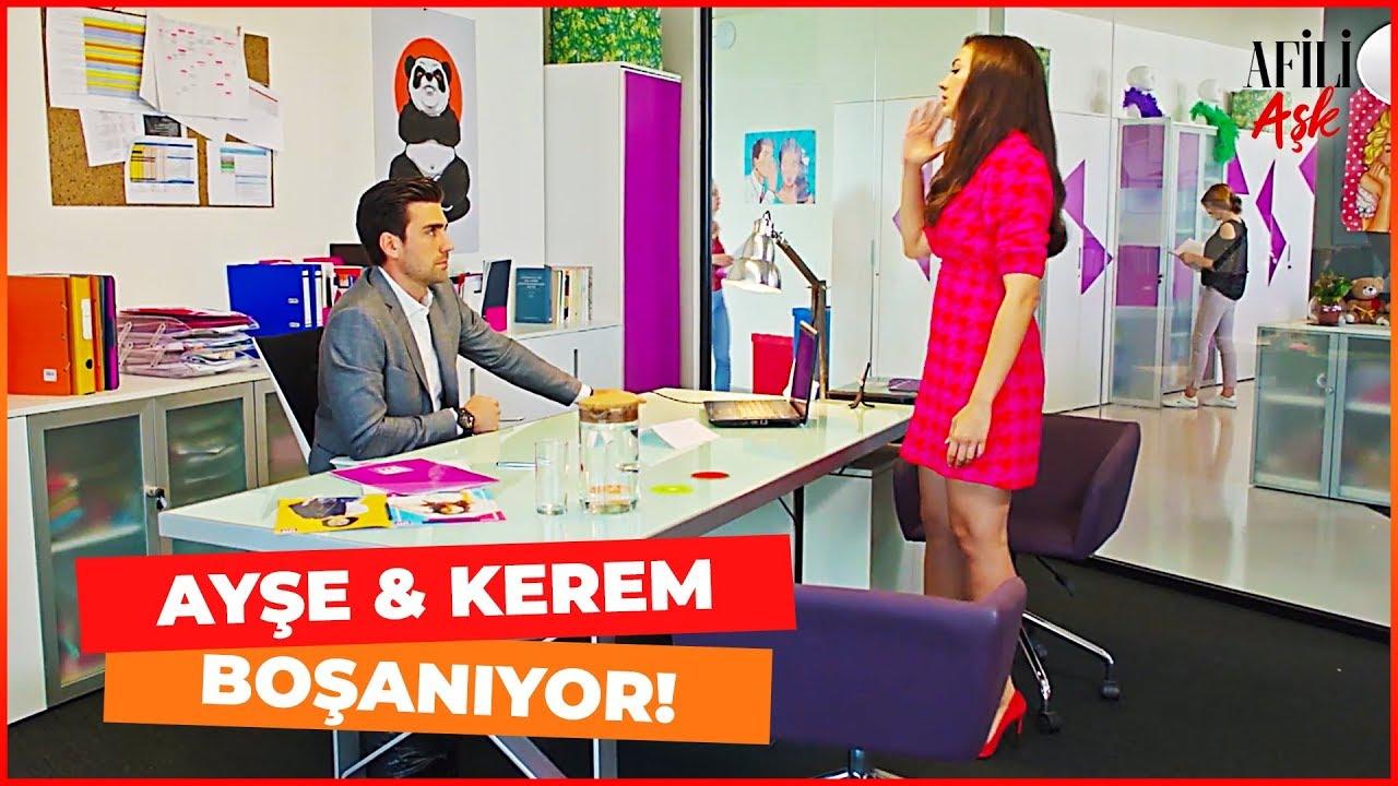 Ayşe, Kerem'e BOŞANMAK İstediğini Söyledi! - Afili Aşk 16. Bölüm (FİNAL SAHNESİ)