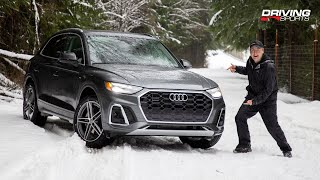2021 Audi Q5 55 e Quattro Reviewed + Off-Road and Snow