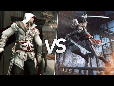 Assassin's Creed II Vs Assassin's Creed IV: Black Flag