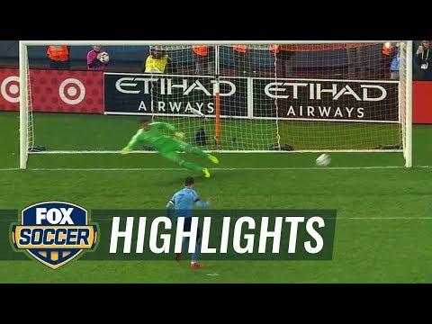 New York City FC vs. Columbus Crew | 2017 MLS Playoffs Highlights