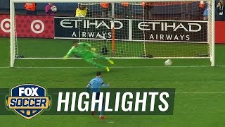New York City FC vs. Columbus Crew | 2017 MLS Playoffs Highlights
