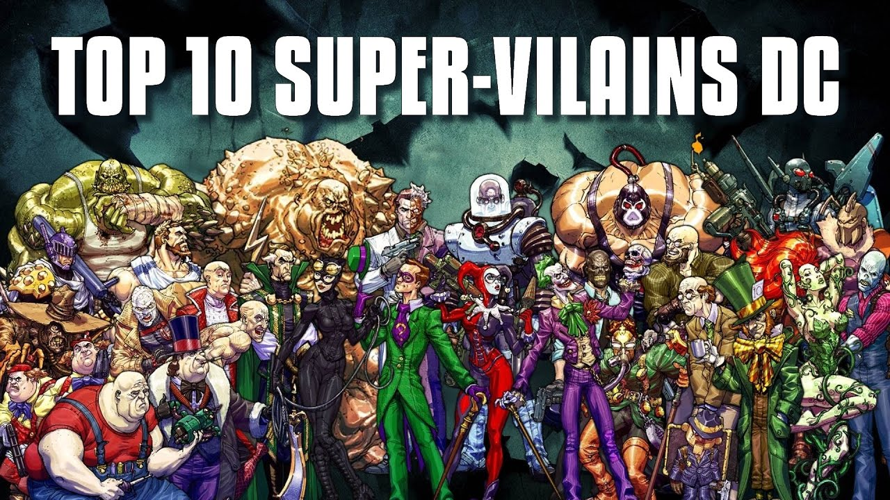 Superschurken Marvel