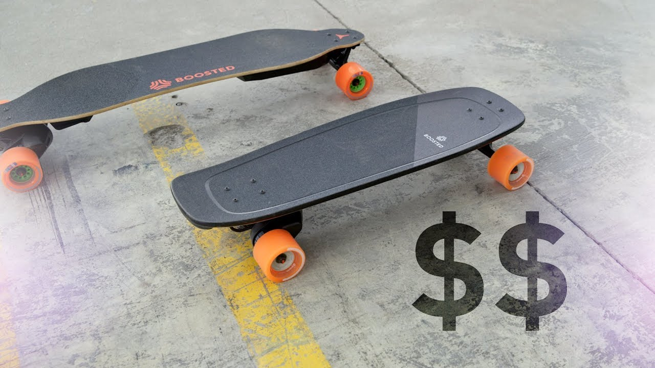 $750 Mini Boosted Board Impressions!