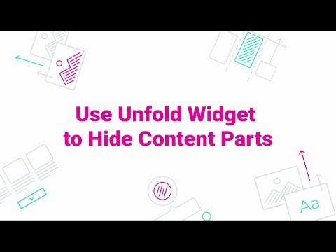 JetTricks. How to Use Unfold Widget to Hide Content Parts