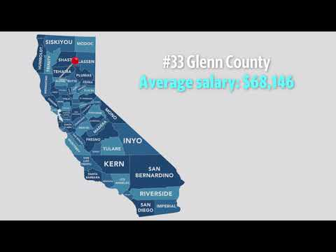 See how the 2018 teacher salaries compare across California