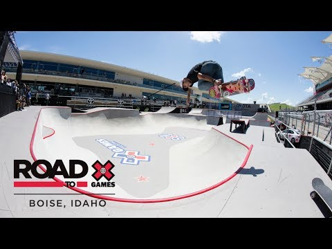 Generate FULL REPLAY: Men's Skateboard Park Final | X Games Boise Qualifier Images