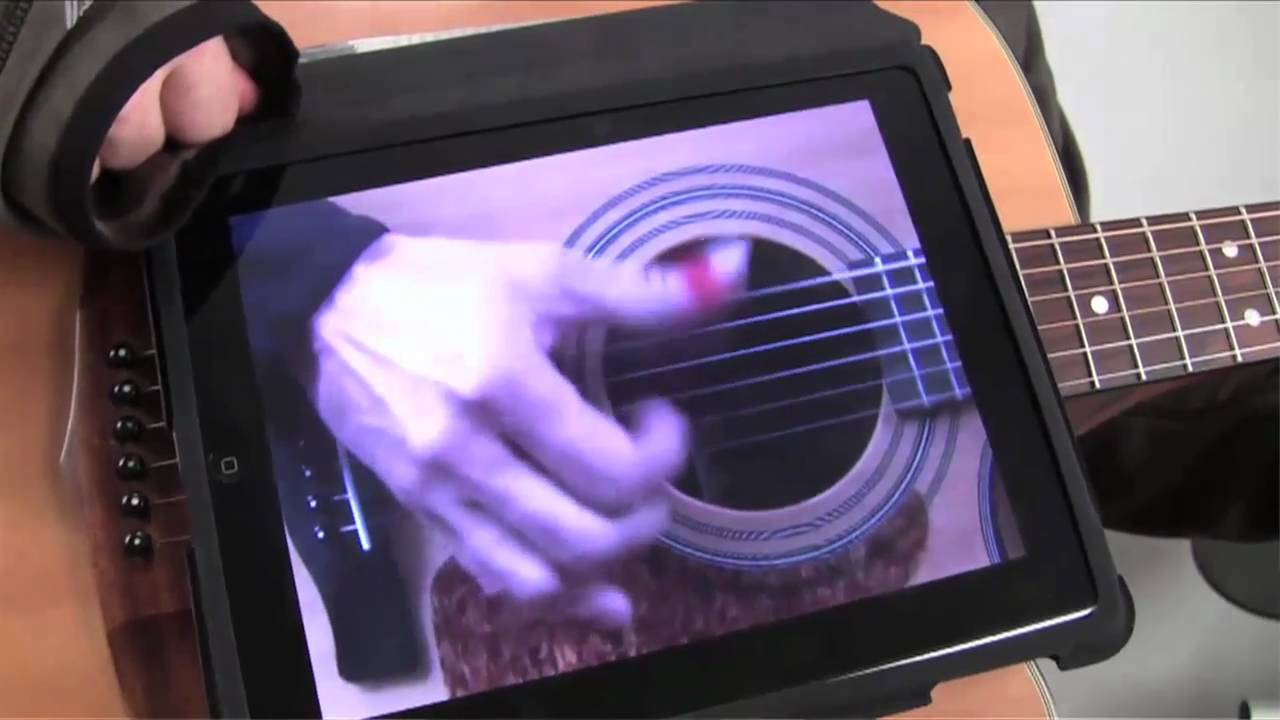 ipad amazing guitar app iplay guitar dual with an iphone cannonball rag youtube. Black Bedroom Furniture Sets. Home Design Ideas