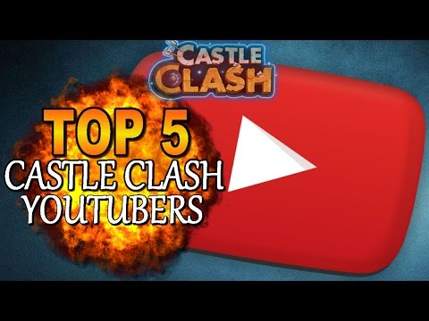Castle Clash - Top 5 CC YouTubers - Under 5K Subs