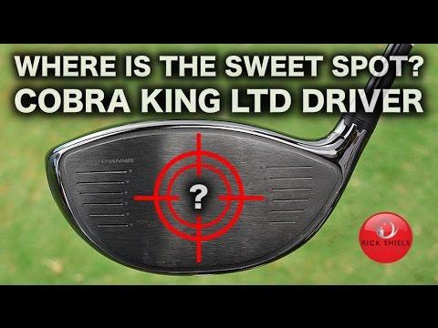 Where Is The Sweet Spot On Cobra King Ltd Driver