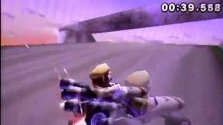 Mario Kart 7 Time Trial Wuhu Mountain Loop 1:05:868