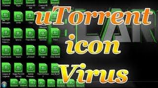 How To Fix Utorrent Virus Icon's