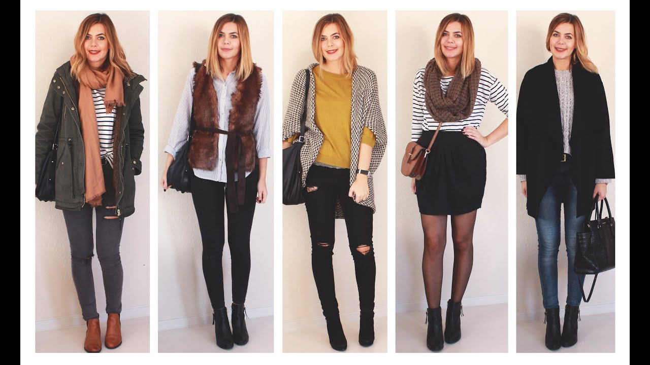 Fall autumn lookbook herbst fashion oktober h m zara primark zalando vero moda Fashion style oktober 2015