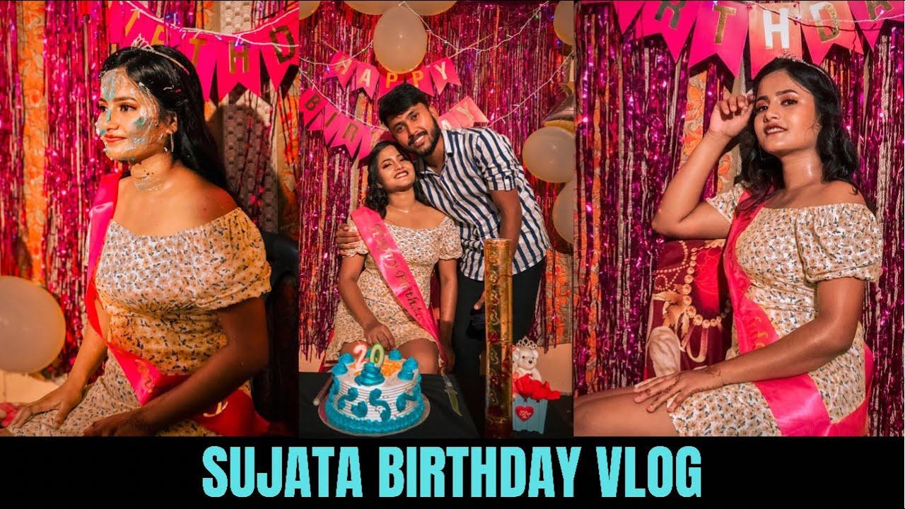 BIRTHDAY VLOG OF SUJATA & SURPRISE GIFT TO HER SHE GOT EMOTIONAL😭😭   