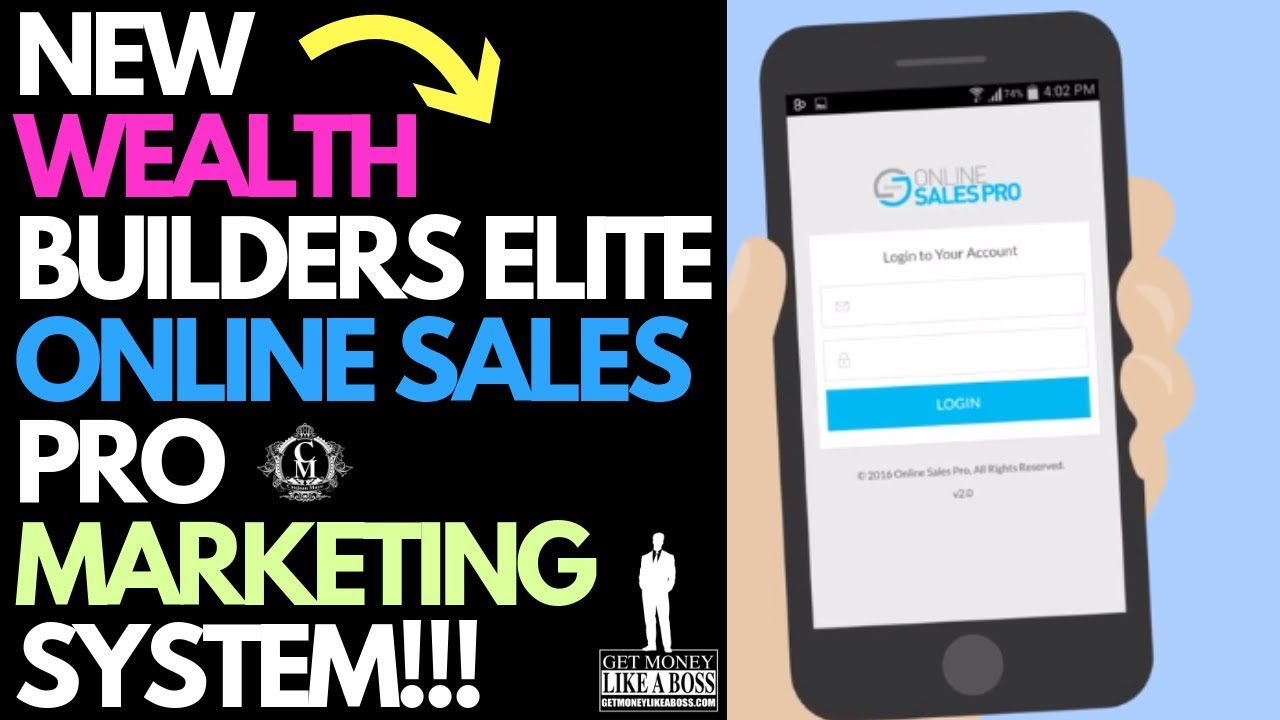 NEW Wealth Builders Elite OSP Marketing Funnel System  | Must See!!!