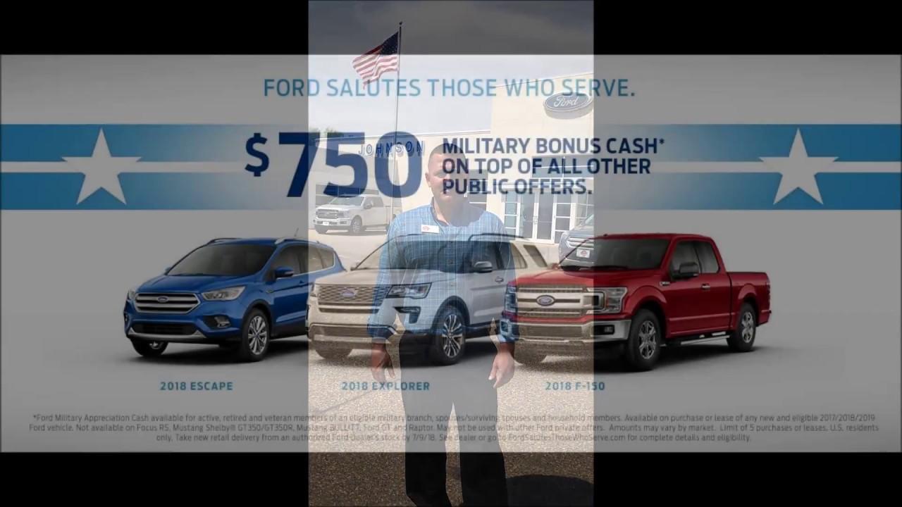 Johnson Ford New Richmond >> Military Appreciation At Johnson Ford Of New Richmond 2018