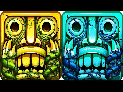 Temple Run 2 - NEW UPDATE Lost Jungle Full Gameplay HD