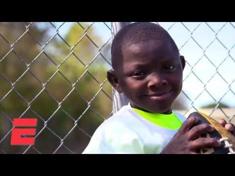 Super Saints Fan Jarrius Robertson Receives Ultimate Gift | ESPN Archives
