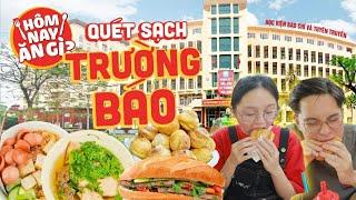 HNAG - Quét sạch khu ăn uống trong Học viện Báo chí và Tuyên truyền