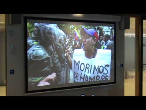Forum Venezuela: The Current Crisis Leading to a New Democracy Part 2 Tamara Suju.mp4