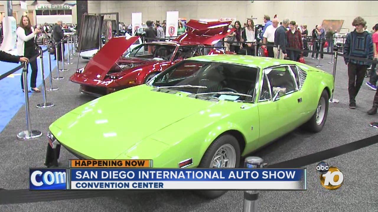 San Diego International Auto Show Kicks Off YouTube - San diego car show convention center