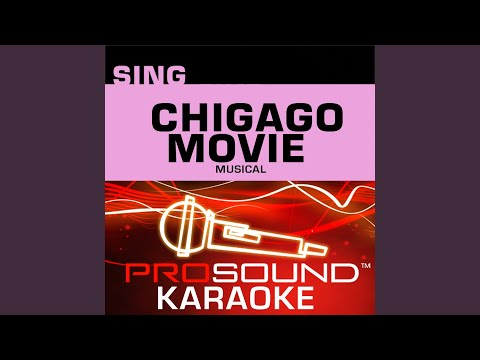 All That Jazz (Karaoke with Background Vocals) (In the Style of Catherine Zeta-Jones)