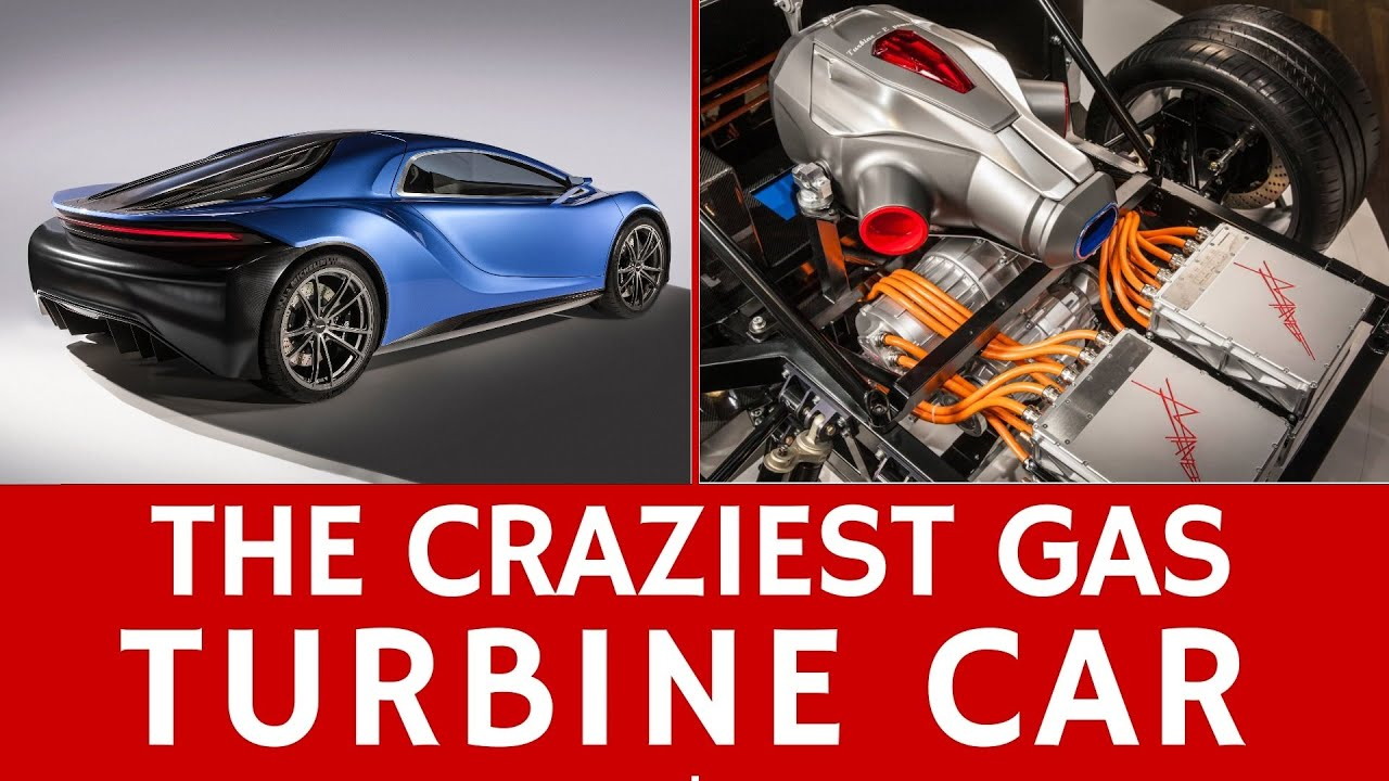 Crazy Jet Turbine Car 1030hp Hybrid Vehicle Of The Future