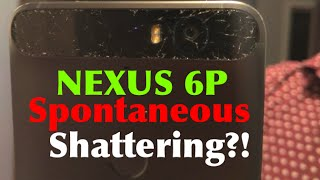 Nexus 6P Back Glass Spontaneous Shattering?! DROP TEST!