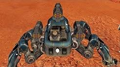 Walking War Robots Spider Robot -Fujin- Gameplay Part 1