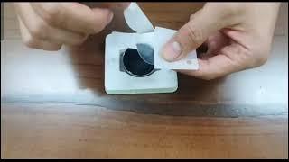 하빙 갤럭시워치 애플워치 액정보호필름 부착가이드