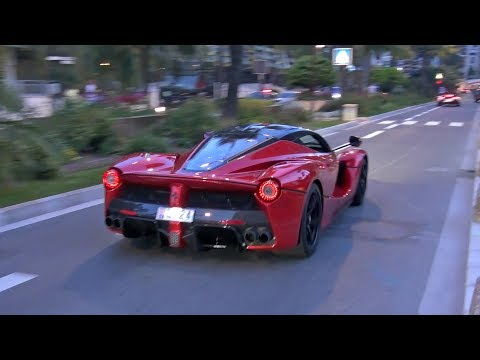 Ferrari LaFerrari & Porsche 918 Spyder - EXHAUST SOUNDS on The Road!