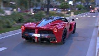 Ferrari LaFerrari & Porsche 918 Spyder - EXHAUST SOUNDS on The Road!