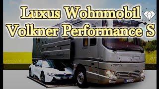 Luxus Wohnmobil Volkner Performance S 😍 Roomtour 2018