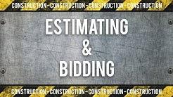 Construction Estimating and Bidding Training
