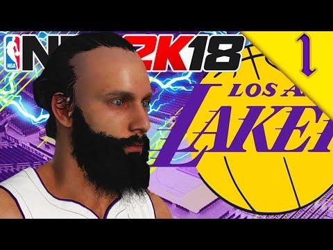 SIMPZY SIGNS FOR LA LAKERS! NBA 2K18: MY CAREER SEASON 1 #1