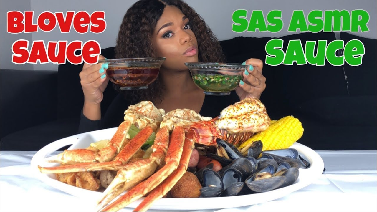 Seafood Boil With Bloves Sauce Sas Asmr Sauce Collab With Eat With Lataysha Ann Youtube Asmr seafood boil in red curry sauce + rice + vegetables 먹방 mukbang eating sounds. youtube