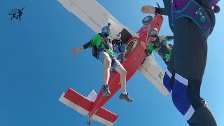 Back to my home dropzone Skydive BCN SALTAMOS.es  Sharing sky & ground with friends. Let's Freefly!