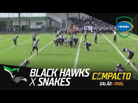 Compacto Gaspar Black Hawks 34 x 07 Bento Gonçalves Snakes - Liga Nacional 2017