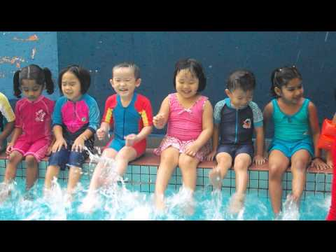 Q-Dees Swimming Class Part 1/2