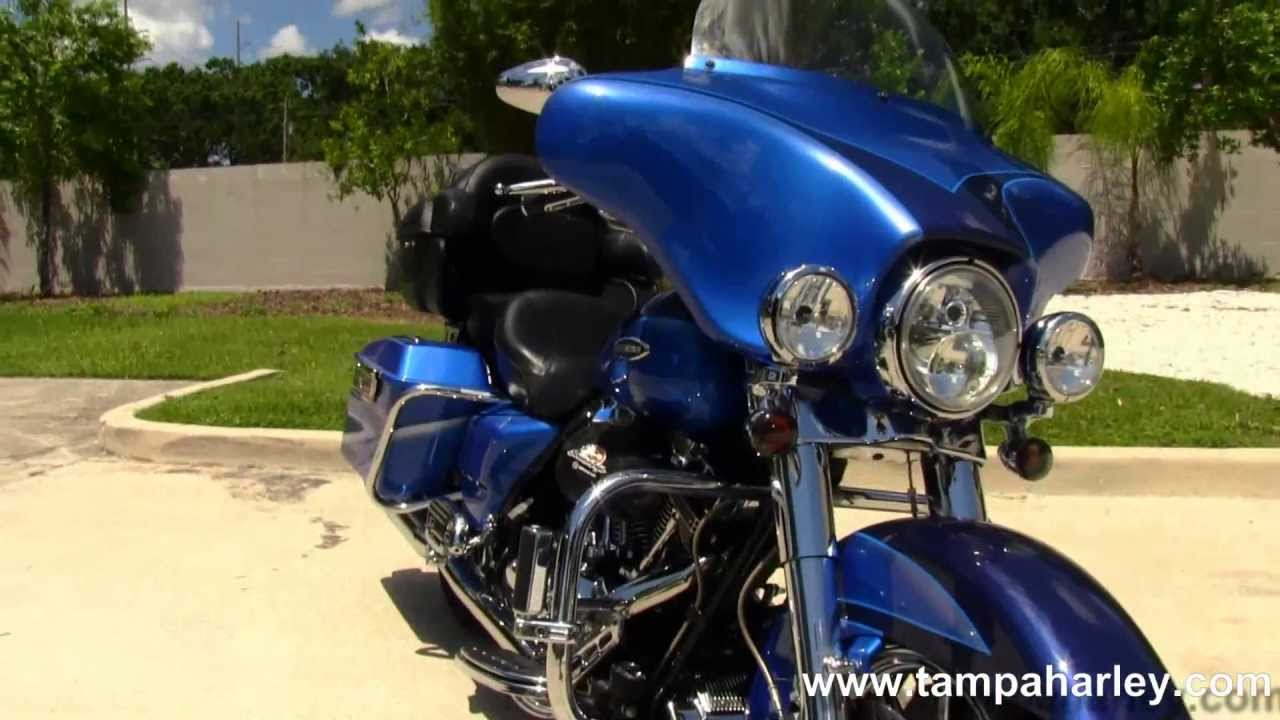 Used Cvo For Sale On >> Used 2007 Harley Davidson FLHTCUSE CVO Ultra Classic Electra Glide for Sale in Arizona - YouTube