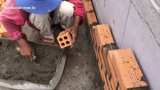 Latest wall building technology - how to build a wall for beginners