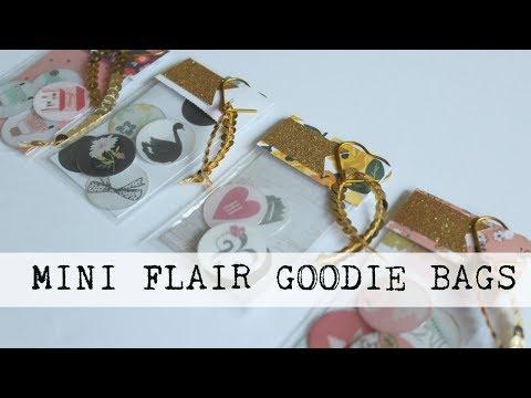 Mini Flair Goodie Bag | Tutorial