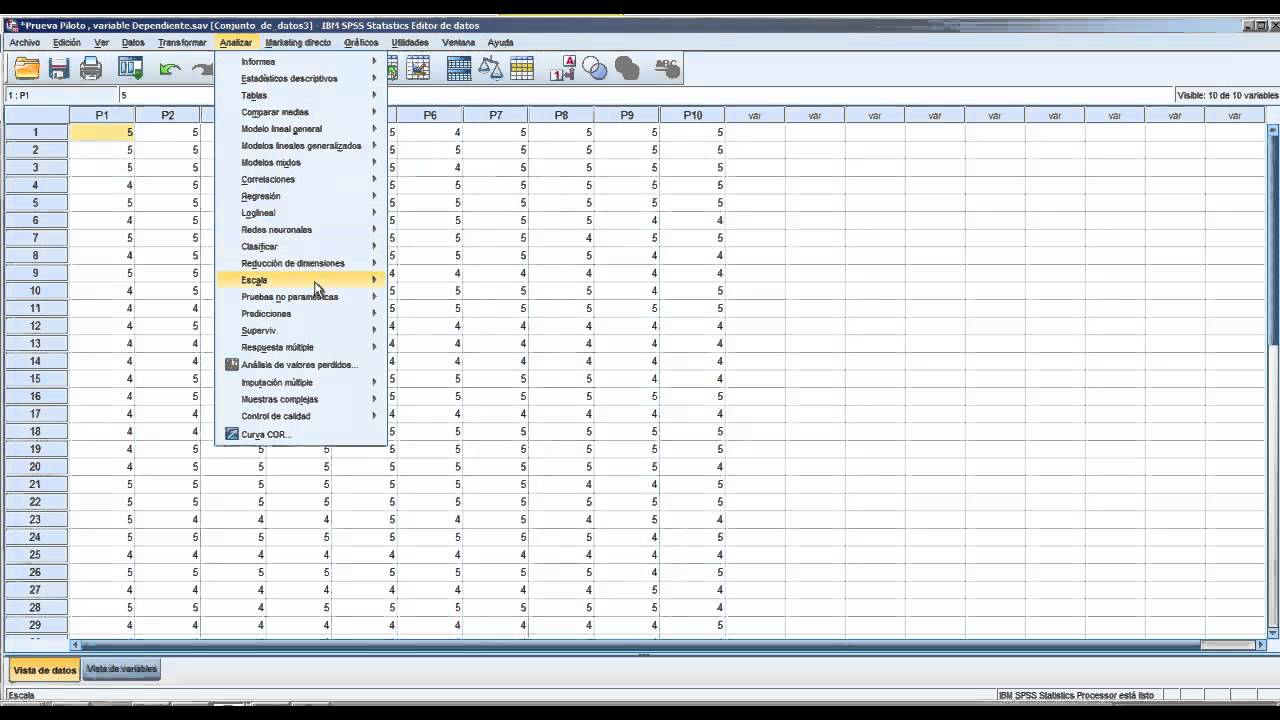 Technology Management Image: SPSS: VIDEO TUTORIAL IBM SPSS STATISTICS