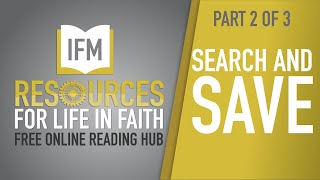 SEARCH AND SAVE USING THE IFM ONLINE READING HUB - PART 2 of 3