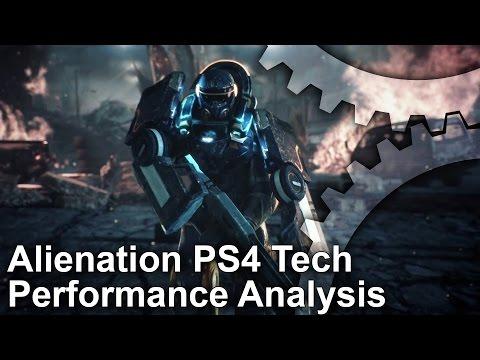 Alienation PlayStation 4 Tech/Performance Analysis