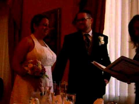 Justice of the Peace Wedding Janelle + David Pardy