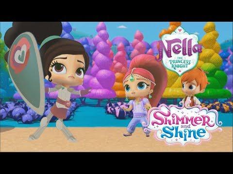 Shimmer And Shine Color Princess Nella Episode Nick Jr