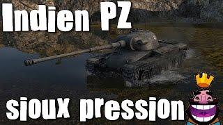 World of tanks blitz (francais) gameplay de l'Indien PZ